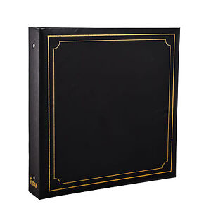 Large-6x4-Photo-Album-for-500-Photo-039-s-Black-Soft-Padded-Cover-AL-9174