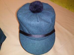 Image is loading SALE-Original-Wool-Scotch-Cap-Teal-Green-Langenberg- e1e9057e5b3
