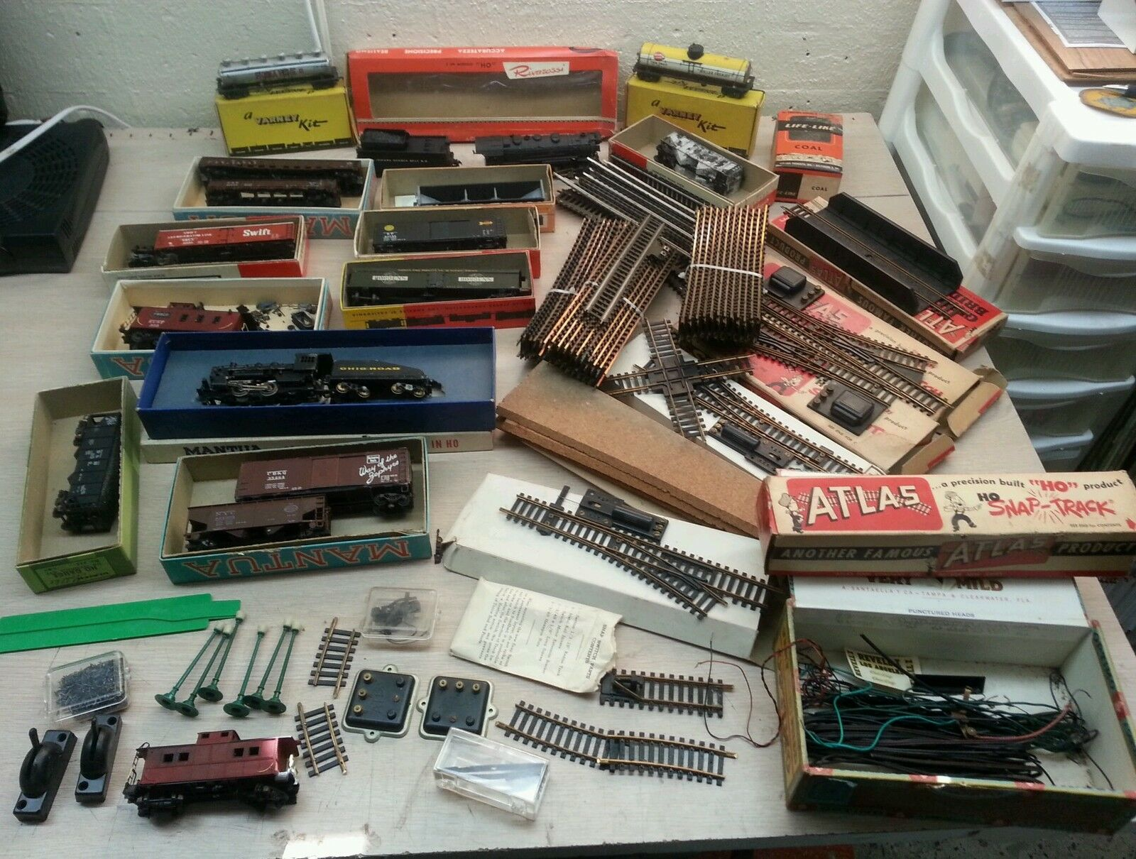Vintage railways model kit builder train mantua athearn atlas varney ect..
