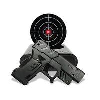 Laser Gun Alarm Clock Shoot To Stop Lcd Screen Target Shooting Novelty Gadget