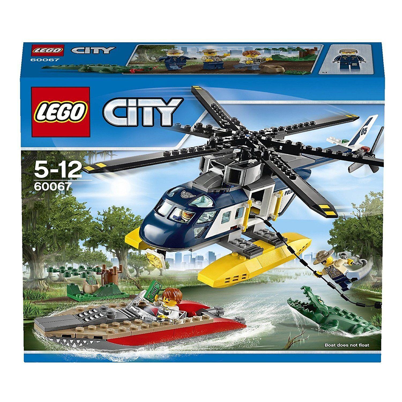 spedizione veloce a te LEGO ® 60067 città palude polizia persecuzione Helicopter PURSUIT PURSUIT PURSUIT NUOVO OVP nuovo SEALED  ultimi stili