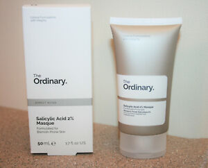The Ordinary Salicylic Acid 2 Masque 1 7oz 50ml Blemish Prone Skin Mask Acne Ebay