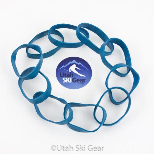 Ten Utah Ski Gear Rubber Brake Retainers Home Ski Tuning Waxing Equipment 10