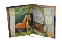 Caballos Libro Miniatura De Fácil Lectura Pasta Dura Mas De 400 Pgs