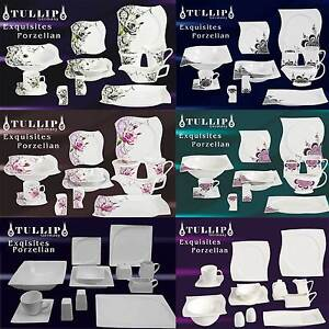 73 79 tlg geschirr tafelservice kaffeeset kombiservice porzellan 12 personen ebay. Black Bedroom Furniture Sets. Home Design Ideas