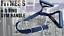 Tricep-6-D-DOUBLE-Cable-Attachment-Handle-Bar-Resistance-Gym-Shihan-powersports thumbnail 2