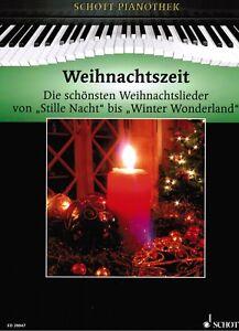 Klavier-Noten-Weihnachtszeit-Pianothek-Weihnachten-mittelschwer-HEUMANN