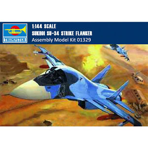 Trumpeter-01329-1-144-SUKHOI-SU-34-Strike-Flanker-Fighter-Bomber-Assembly-Model