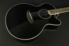 Yamaha CPX500III Solid Top Acoustic/Electric Guitar - Black (526)