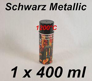 ofenfarbe 1200 c spezial ofenlack thermofarbe schwarz metallic spray. Black Bedroom Furniture Sets. Home Design Ideas