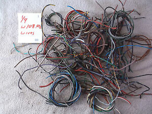 mercedes benz wire w108 fintail w109 w112 w111 w110 wiring adenauer rh ebay com