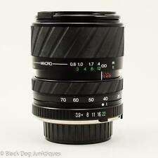 Promaster Spectrum 7 Compact Automatic Zoom Lens 28-70mm F/3.9-4.8 Minolta Macro