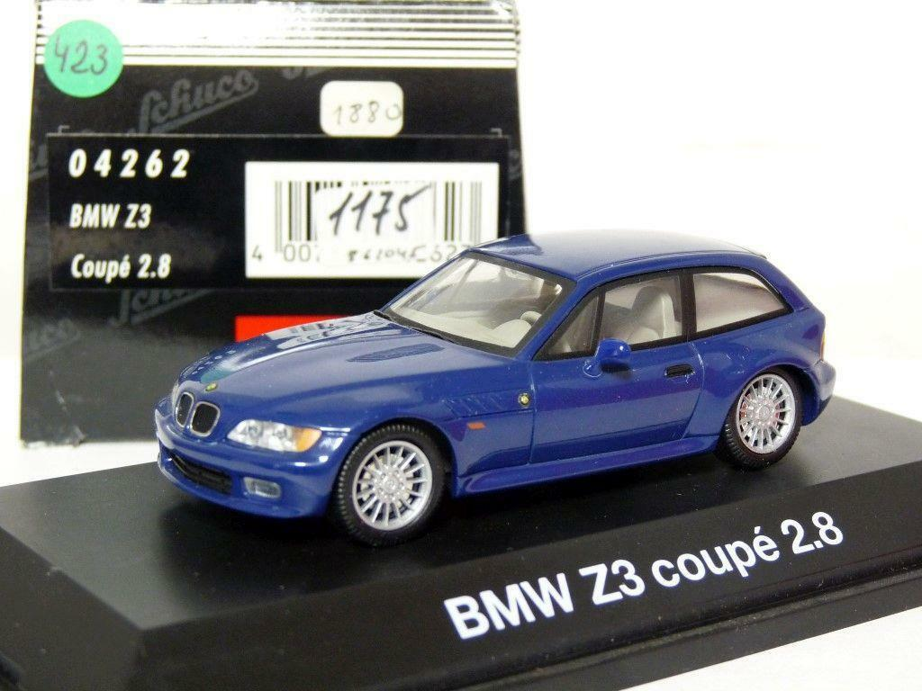 Schuco 04262 1/43 BMW Z3 Coupe 2.8 Diecast Model Car