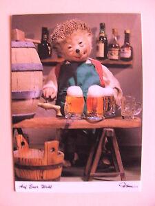 Postkarte-AK-Mecki-Nr-497-Auf-Euer-Wohl
