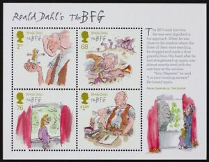 GR-BRITAIN-2012-MS3264-Roald-Dahl-the-BFG-Mini-Sheet-S-S-Mint-NH
