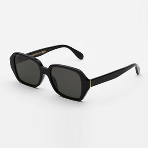 Details about Sunglasses Super by Retrosuperfuture LIMONE Black S8R 52 18  145 R NEW 60163711e15b