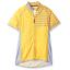 Canari Ditsy Full Zip Women/'s Cycling Jersey Sunglow Yellow Rear 3 Pockets SZ M