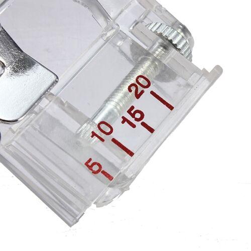 6290 F071 Pied à border réglable pied pose biais réglable 5 à 20 mm