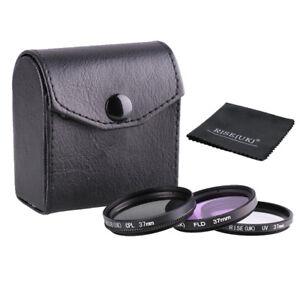 37mm-Filter-kit-UV-CPL-FLD-For-Nikon-Canon-Sony-Camera-Lens-gift