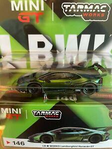 2020 Tarmac Works Exclusive Mini-GT 1:64 LHD Magic Green NISSAN GT-R GTR R35