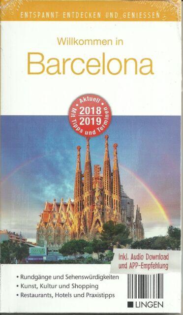 Reiseführer STADTPLAN BARCELONA Entspannt entdecken m Tipps+ Terminen 2018/2019