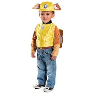 Image is loading Boys-Paw-Patrol-Rubble-Halloween-Costume