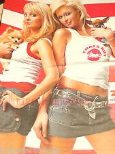 Sexy Paris Hilton & Nicole Richie Poster wow  mit süssen Hündchen