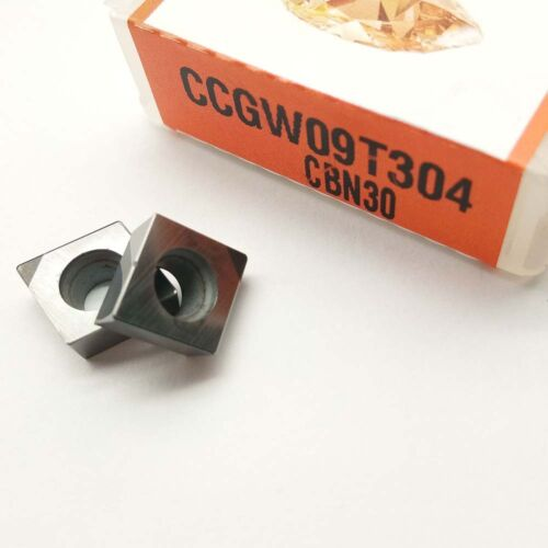 2pcs CCGW09T304 CBN30  High hardness carbide drill bit for steel