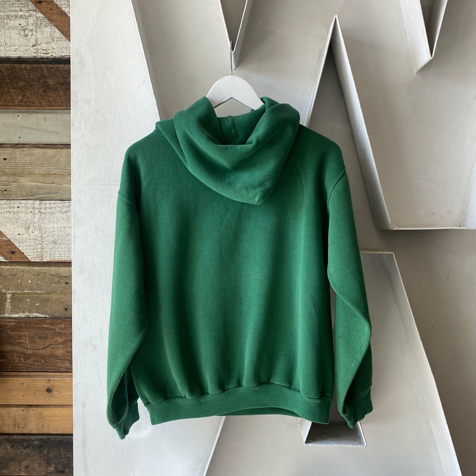 Vintage 70's Shamrock Run Irish Clovers Green Rus… - image 4