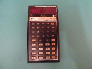 Details about Vintage Texas Instruments SR-50A Slide Rule Calculator