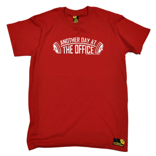 Another Day at the Office Mens assouplissement T-shirt anniversaire Poison fitness musculation