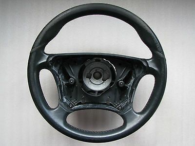Mercedes-Benz W208 W210 Facelift Black Leather Steering wheel AMG Sport OEM