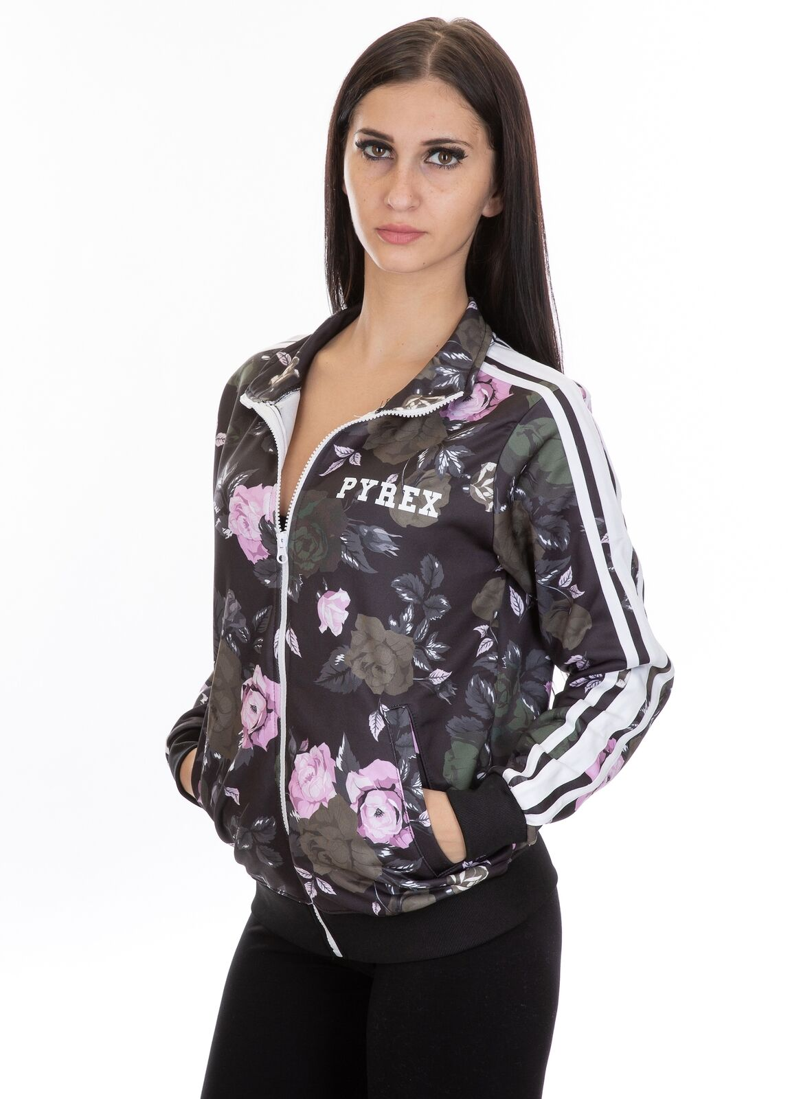 PYREX - GIACCA GIACCA GIACCA DONNA FULL ZIP - 18IPC34486 - FLOWER aefea0