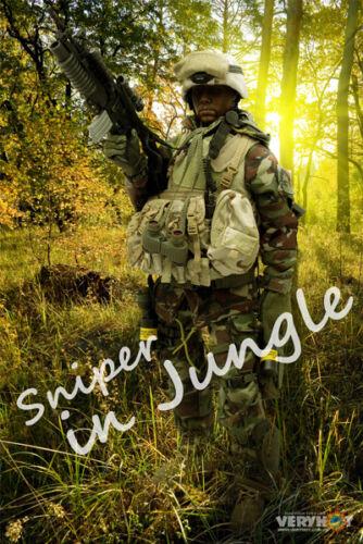 Very Hot US Sniper in Jungle Set 1//6 IN STOCK