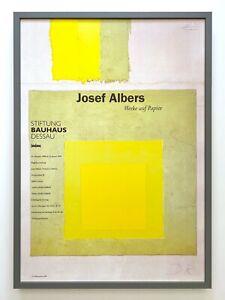 Bauhaus A4//A3 Poster Modern Art Print Josef Albers Interlocked