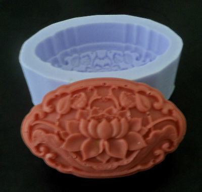 LOTUS SILICONE MOULD/ MOLD FOR CANDLE / SOAP
