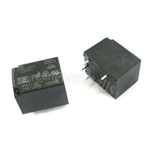 1 x JS112VF 12V Relay 5 pins POWER RELAY SPDT 10A 250V 12VDC