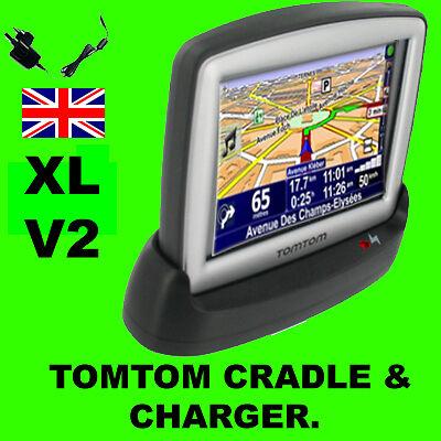 Tomtom XL V2 IQ LIVE USB Desktop Cradle Mains Charger