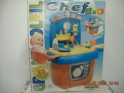 Chef Box Con Maniglia + 23 Accessori Grazioli Anni '90