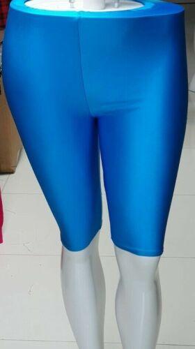 NUOVA linea donna pantaloncini ciclismo Donna Shiny Dancing CICLO Nylon Swim UK