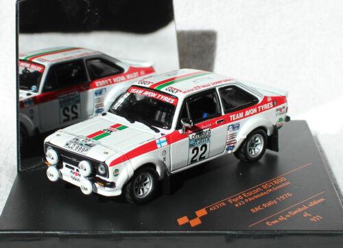 Ford Escort RS 1800 Rally 1976 #22 1:43 Vitesse Modellauto 42378