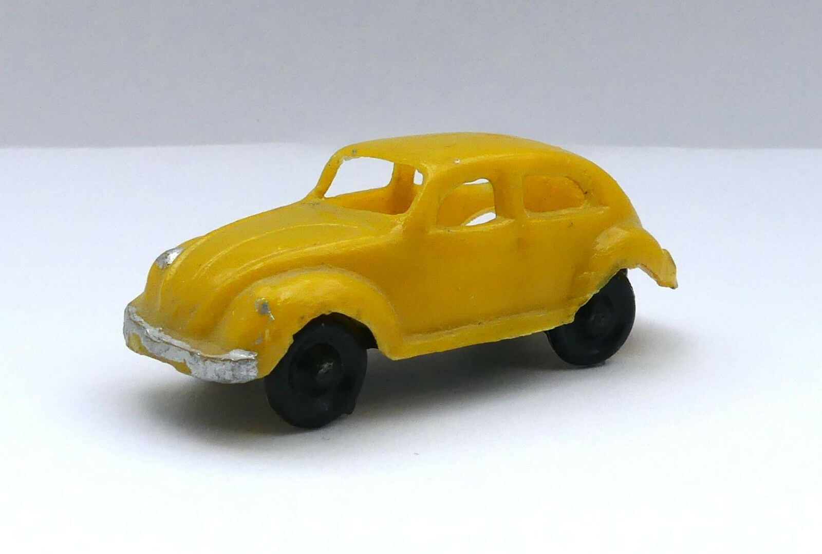 Plastikauto,Drahtachser,unverglast,VW Brezelkäfer,ovali,1 87,HO, aus Mexico