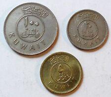 Kuwait / Kuweit - 100 Fils + 10 Fils + ? Fils - 1979 - vz (N38