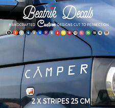 CAMPER Van Sticker Graphic Decal, Vinyl Funky Window, Motor home Van Sticker