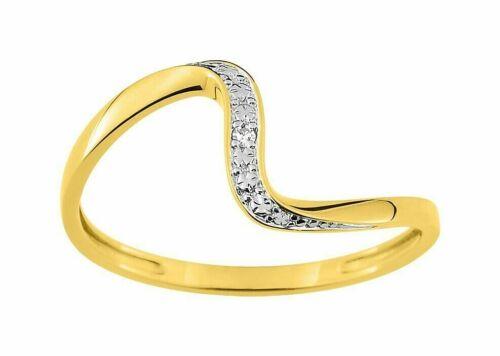 rose ou blanc sertie de diamants tailles au choix Alliance en or jaune