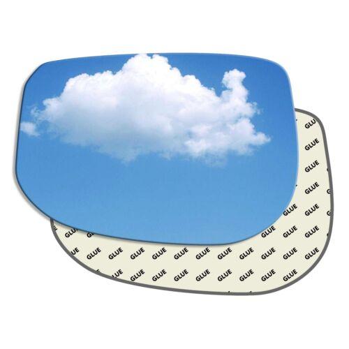 Main Gauche Passager Côté Wing Mirror Glass HONDA INSIGHT 2009-2014 503LS