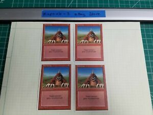 4x-Burrowing-4th-Edition-MTG-Magic-The-Gathering-Cards