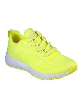 Skechers NEW Bobs Squad Glowrider neon