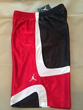 a221395f8eb1c6 item 4 NWT Nike Jordan BOY S Court Vision Basketball Shorts Red Black White  Size Large -NWT Nike Jordan BOY S Court Vision Basketball Shorts Red Black  White ...