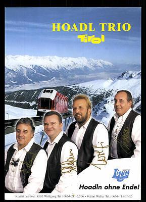 Musik Hoadl Trio Tirol Autogrammkarte Original Signiert ## Bc 48236 Elegante Form Sammeln & Seltenes